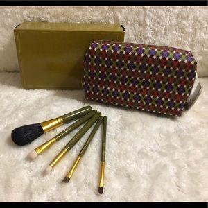MAC Olive Green 5pcs Basic Brush Set